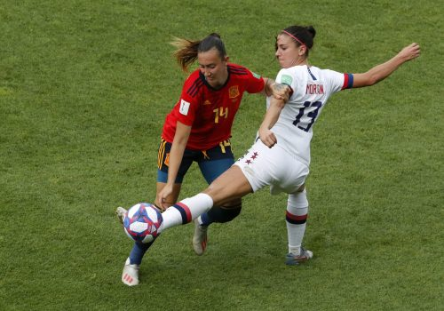 France Spain Us Wwcup Soccer